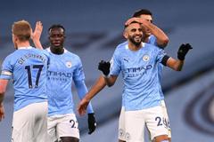 """Mahrez """"nổ"""" Hat-trick, Man City đại thắng 5-0"""