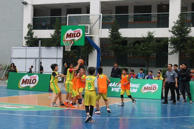 Khai mạc Giải bóng rổ học sinh tiểu học Hà Nội lần thứ XIV