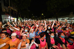 Hấp dẫn giải chạy đêm đầu tiên ở Hà Nội