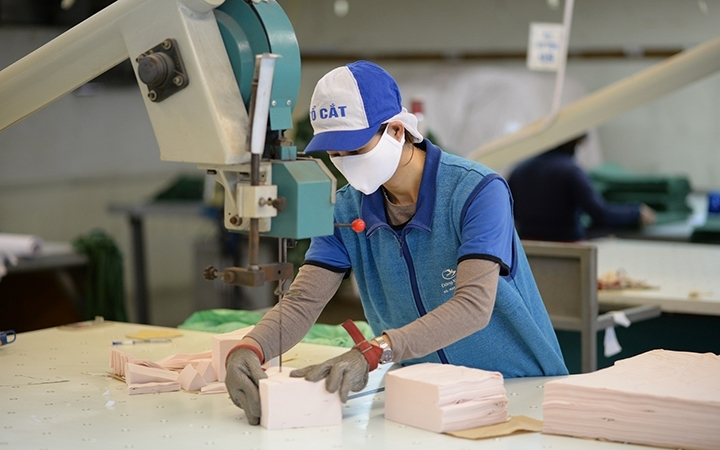 Campuchia dẫn đầu tiêu thụ nguyên phụ liệu dệt, may, da giày từ Việt Nam