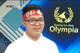 Nam sinh Hà nội lập kỷ lục điểm số ở Đường lên đỉnh Olympia
