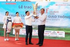 Golfer Hoàng Quân vô địch Giải golf Chung tay vì ATGT 2020