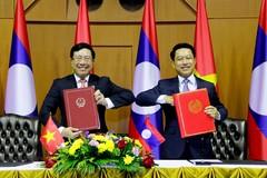 Bộ trưởng Ngoại giao hai nước Việt-Lào tham vấn chính trị
