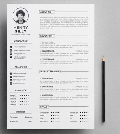 Lưu ý về màu sắc trong thiết kế CV