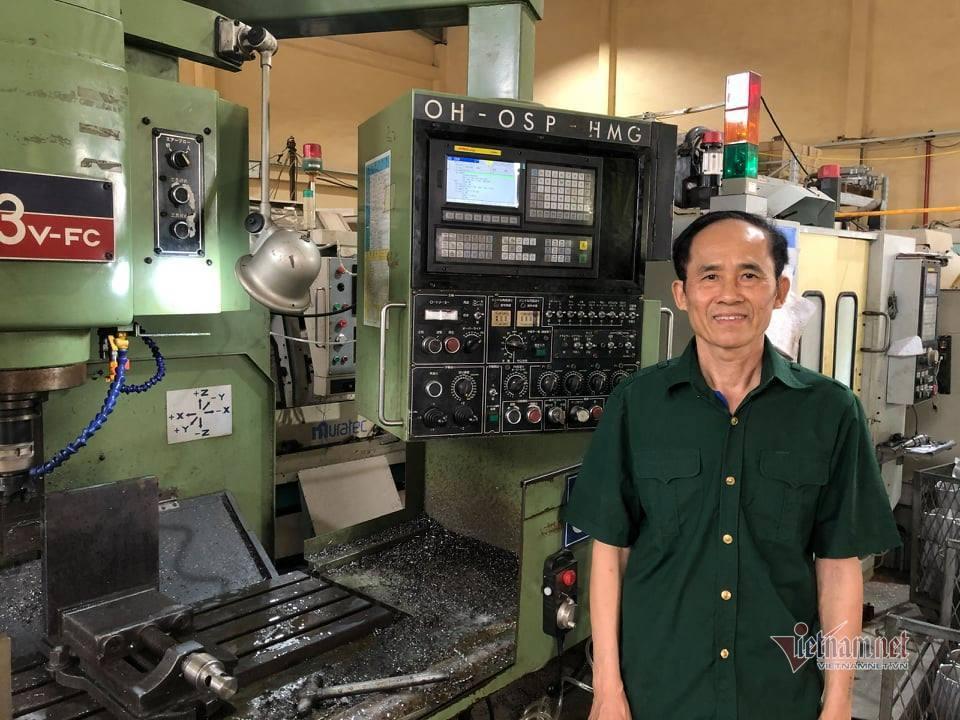 Cựu binh đam mê sáng chế, cải tiến máy sản xuất nông nghiệp