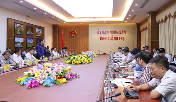 EVN thúc đẩy các công trình lưới điện ở Quảng Trị