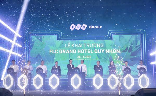 Khai trương FLC Grand Hotel Quy Nhon 1.500 phòng lớn hàng đầu Việt Nam