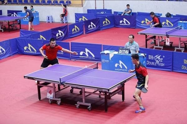 Hơn 300 VĐV tham dự giải bóng bànCúp Báo Hà Nội mới 2020