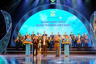 Vietcombank 7 lần liên tục đạt Thương hiệu Quốc gia
