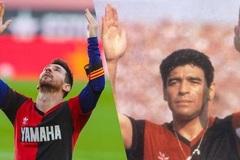 So sánh gây bức xúc giữa Messi và cố huyền thoại Maradona
