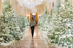 Nhà Trắng lung linh chào đón Giáng sinh 2020