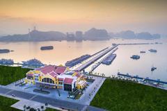 Ngắm Cảng tàu khách quốc tế Hạ Long lung linh mọi thời khắc