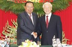Lãnh đạo Đảng, Nhà nước Việt Nam chúc mừng Quốc khánh Lào