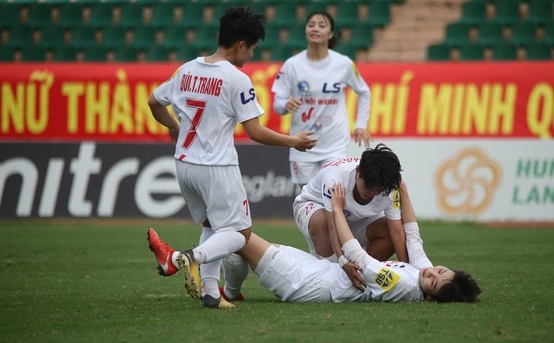 Nữ TPHCM I và Hà Nội I làm nóng trước trận chung kết