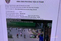 """Ô tô để nhà tại Thanh Hóa, """"tá hoả"""" khi CSGT báo vi phạm ở Hà Nội"""