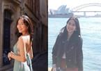 Ngắm Á hậu Phương Anh du lịch 21 nước trên thế giới