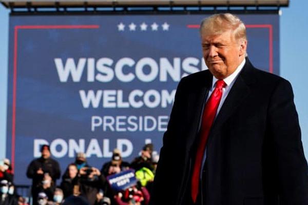 Ông Trump quyết chiến tới cùng ở bang Wisconsin