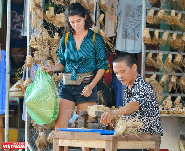 Unique bamboo root sculptures