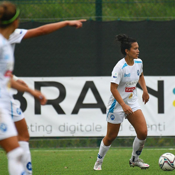Alexandra Huynh lives out Serie A dream with Napoli