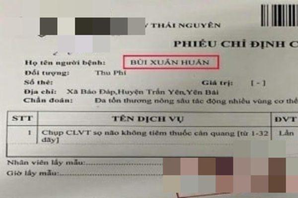 Giang hồ mạng Huấn 'hoa hồng' bị đánh nhập viện ở Thái Nguyên