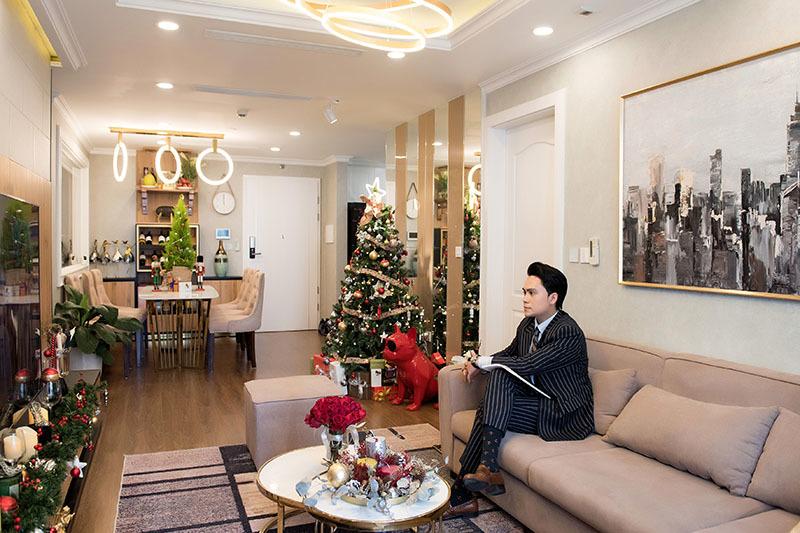 MC Thái Dũng sống một mình trong căn hộ sang trọng hơn 100m2