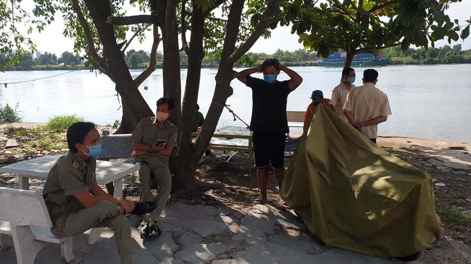 Phát hiện thi thể mất nửa đầu và cánh tay phải trên sông Sài Gòn