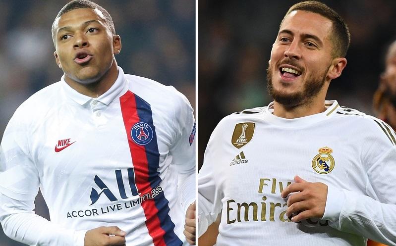 Real Madrid dùng Hazard ký Mbappe, Mourinho sốt vó