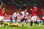 MU 1-2 PSG: Fred bị đuổi khỏi sân (H2)