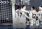 "Ronaldo lập công, Juventus thắng trận ""3 sao"""