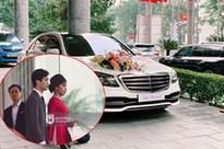 Cận cảnh siêu xe rước dâu 7,4 tỷ của Công Phượng: Làm tiệc cưới thứ 3 rồi mà vẫn hoành tráng thế này đây!
