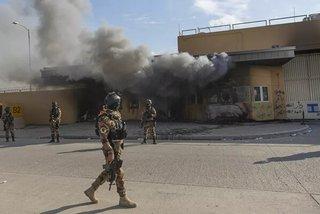 Rộ tin Mỹ muốn rút hàng chục nhà ngoại giao khỏi Iraq