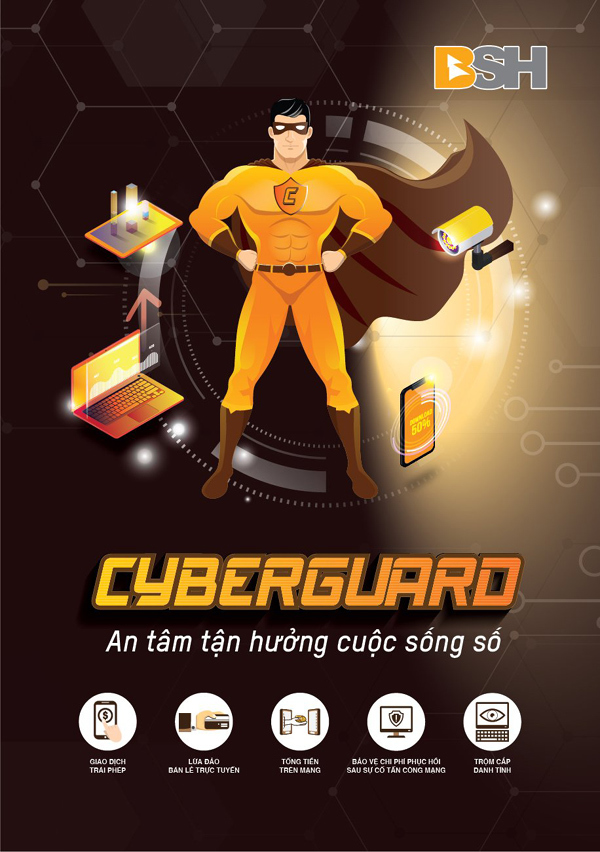 BSH tiên phong ra mắt bảo hiểm rủi ro cho cá nhân trên không gian mạng