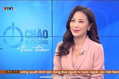 MC Quỳnh Hoa 'thời tiết' bất ngờ dẫn thời sự VTV