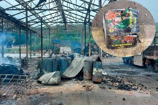 Vụ nổ ở biên giới Lào-Việt làm 2 người chết: Pháo hoa giấu dưới thùng thạch cao