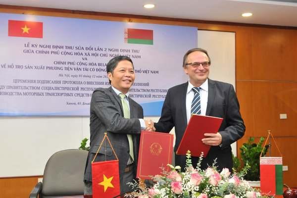 Việt Nam - Belarus liên kết sản xuất ô tô