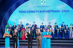 PV GAS được vinh danh Thương hiệu quốc gia 2020