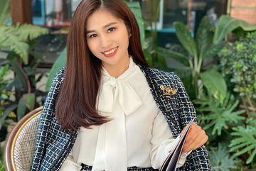 MC Minh Trang thời sự 19h của VTV ngày càng xinh đẹp