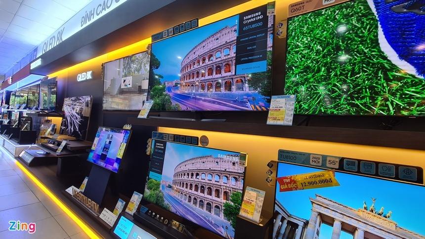 Tivi ngày càng rẻ