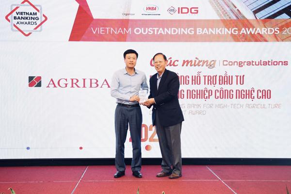 Agribank nhận 2 giải thưởng Ngân hàng Việt Nam tiêu biểu 2020