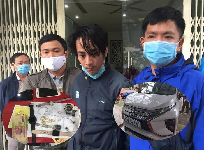 Thợ nhôm kính ở Đà Nẵng lái ô tô đi phá khóa trộm cắp