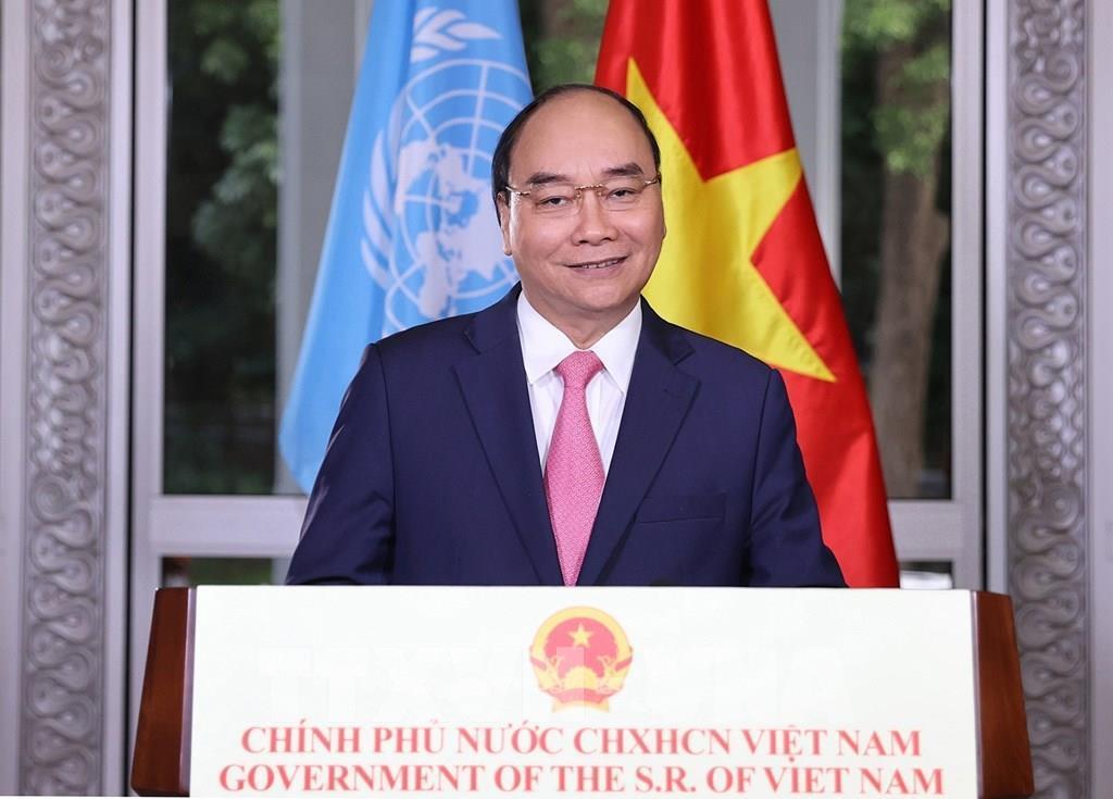 Thủ tướng: Việt Nam sẵn sàng đóng góp cùng quốc tế vượt qua đại dịch