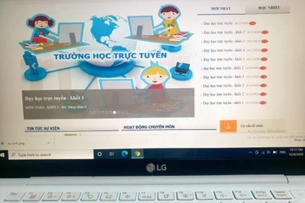 Trường học Sài Gòn ứng phó nhanh với dạy học trực tuyến