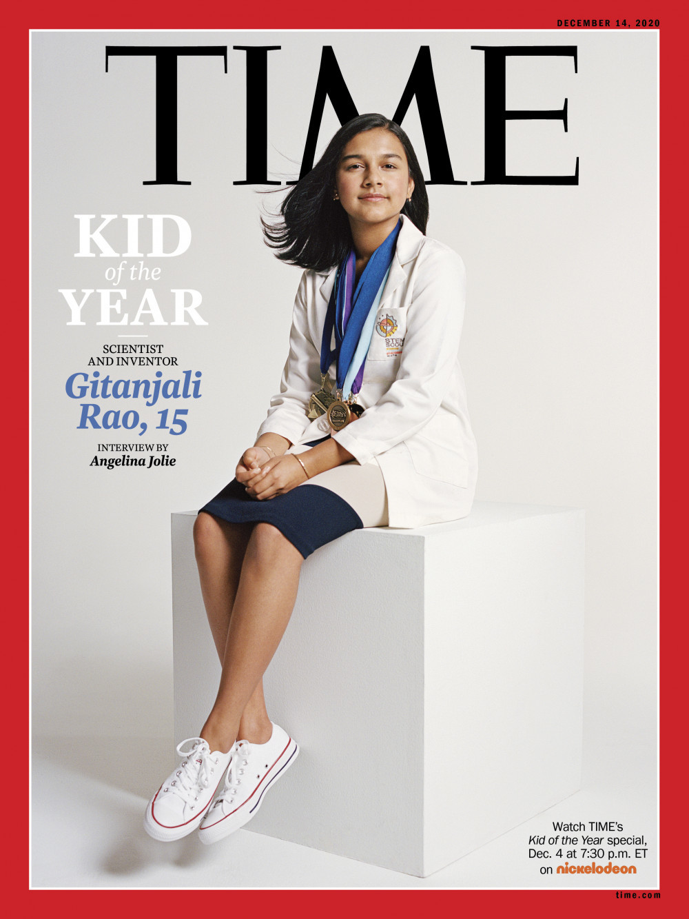 Nhà khoa học trẻ tuổi nhất nước Mỹ được TIME vinh danh