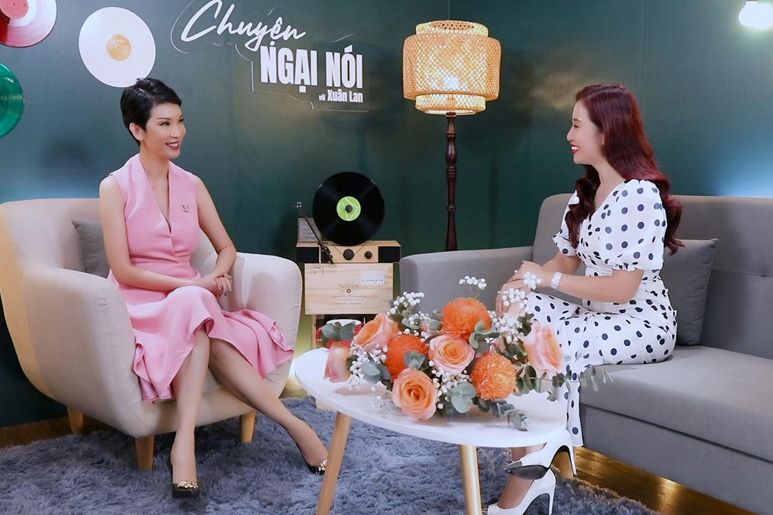 Hoa khôi Thu Hương: 'Tôi rất biết ơn vợ cũ của chồng'