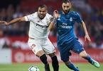 Sevilla 0-0 Real Madrid: Benzema lĩnh xướng hàng công (H1)