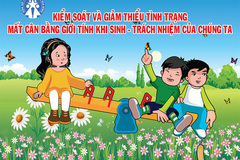Tổng cục Thống kê dự báo Việt Nam sẽ dư thừa khoảng 1,38 triệu nam giới vào năm 2026