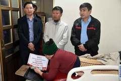 Báo VietnamNet trao hơn 200 triệu cho 4 hoàn cảnh ở Hà Tĩnh
