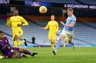 Xem video bàn thắng Man City 2-0 Fulham
