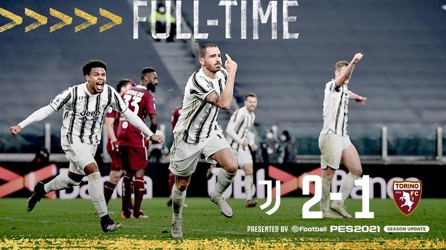 Juventus ngược dòng hạ Torino phút chót