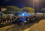 Cảnh sát khống chế bắt giữ 50 thanh niên đua xe ở Cần Thơ